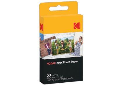 "Kodak ZINK Χαρτί Φωτογραφικό 2""x3"" 50 φύλλα"