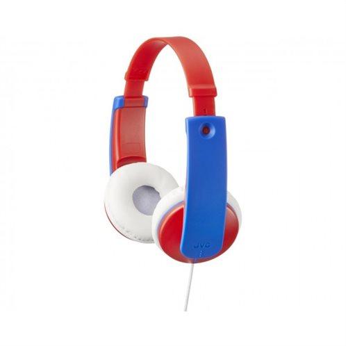 JVC Ακουστικά  Tinyphones HAKD7RE Koκκινο