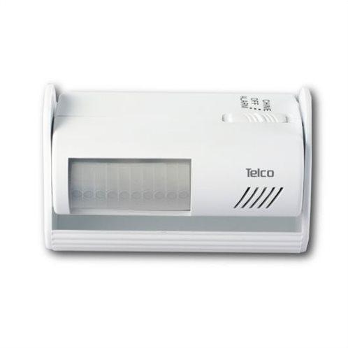Telco Ειδοποιητής Εισόδου με PIR και Συναγερμό ST96 Λευκό