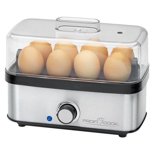 Profi Cook Ανοξείδωτος βραστήρας αυγών (1-8 αυγά) 400W PC-EK 1139