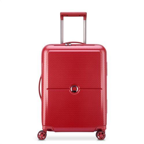 Delsey βαλίτσα τροχήλατη καμπίνας 55χ35χ25 cm Turenne Red