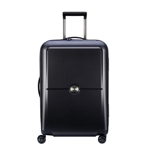 Delsey βαλίτσα τροχήλατη 65χ45,5χ26 cm Turenne Black