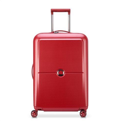 Delsey βαλίτσα τροχήλατη 65χ45,5χ26 cm Turenne Red