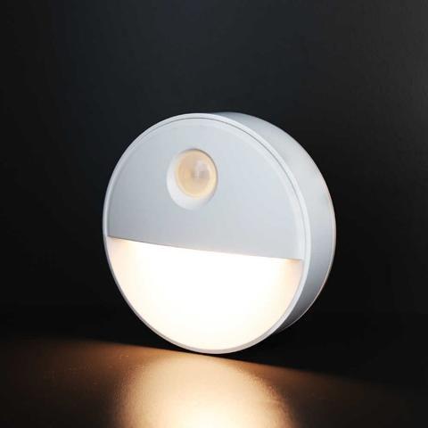 Fos_Me Φωτάκι νυκτός LED φορητό με αισθητήρα φωτός και κίνησης 17-00511