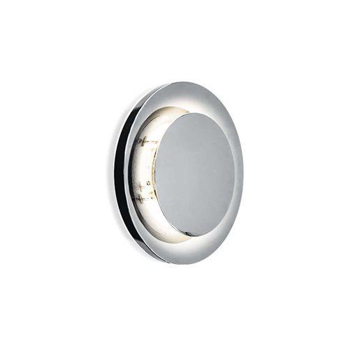 φοs_me Φωτιστικό Τοίχου Ασημί circle πλαφονιέρα 17-01603 Φ250 GX53 1X13W ΝΙΚΕΛ