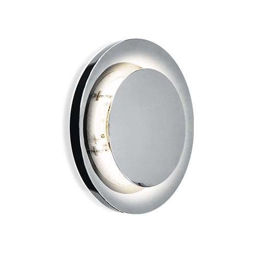 φοs_me Φωτιστικό Τοίχου Ασημί circle πλαφονιέρα 17-01604 Φ315 GX53 1X13W ΝΙΚΕΛ