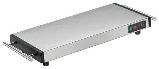 Kuchenprofi Πλάκα Θέρμανσης Ανοξείδωτη 1100W - 48x20x6cm