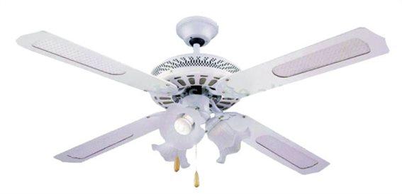 Telco Ανεμιστήρας Οροφής με Φως 52'' 4ΦΤ/4Φ WS52-4C4L Λευκός