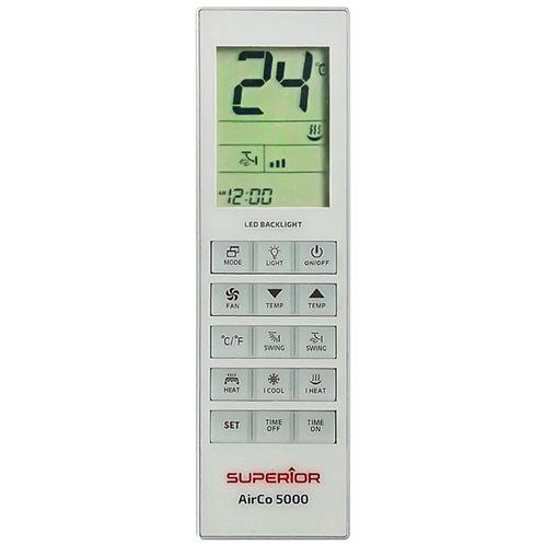SUPERIOR Universal τηλεχειριστήριο αντικατάστασης για air-conditions, AIRCO 5000 in 1