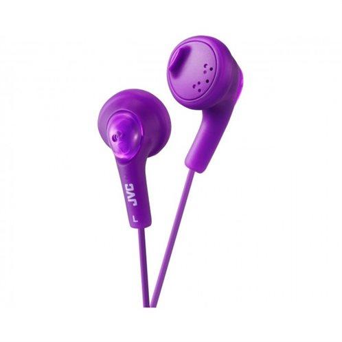 "JVC ""Gumy phones"" in-Ear  ακουστικά   HAF160VEP Μωβ"