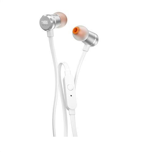 JBL In-Ear Ακουστικά T290 (Silver)