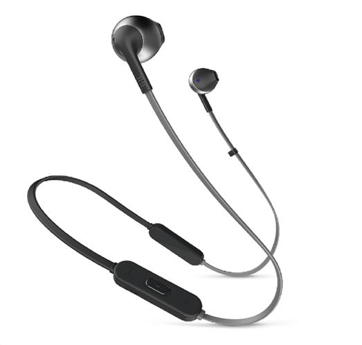 JBL In-Ear Bluetooth ακουστικά Tune 205 (Black)