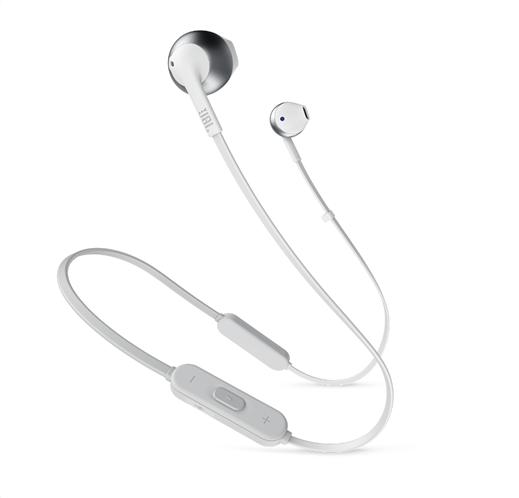 JBL In-Ear Bluetooth ακουστικά Tune 205 (Silver)