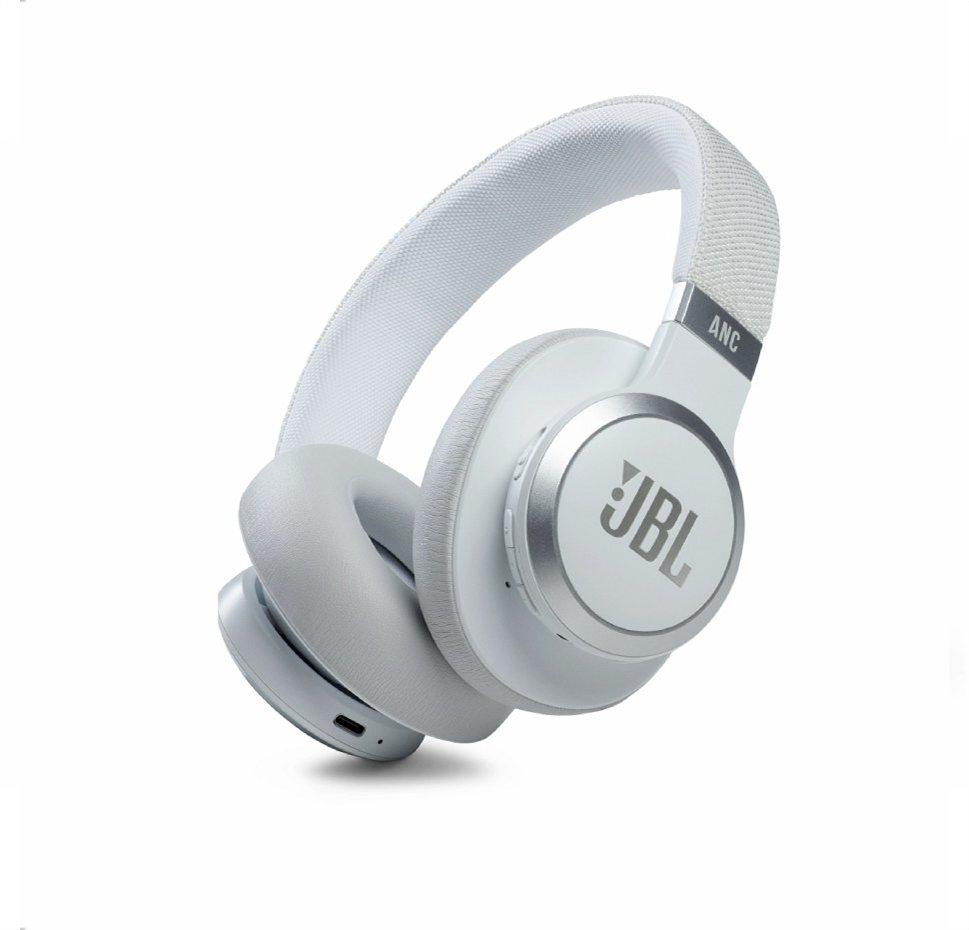 JBL Live 660NC, Over-Ear Bluetooth Headphones, Adaptive Noise Cancelling, (White)