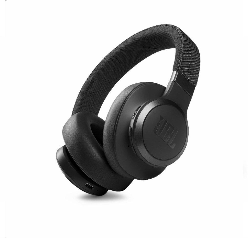 JBL Live 660NC, Over-Ear Bluetooth Headphones, Adaptive Noise Cancelling, (Black)