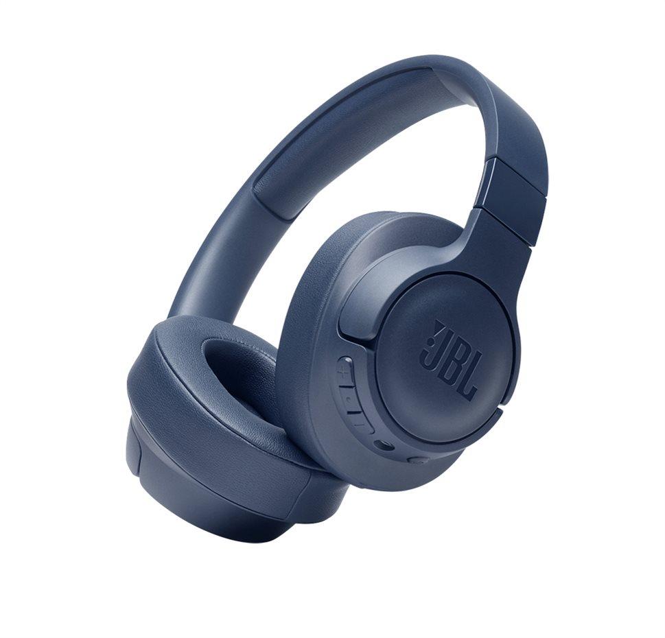 JBL Tune 710BT, Over-ear Bluetooth Headphones, Multipoint (Blue)