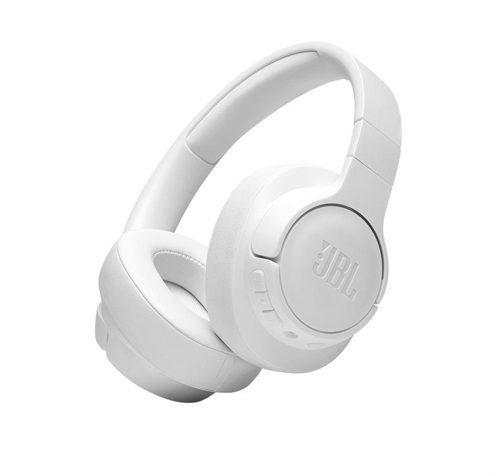 JBL Tune 710BT, Over-ear Bluetooth Headphones, Multipoint (White)