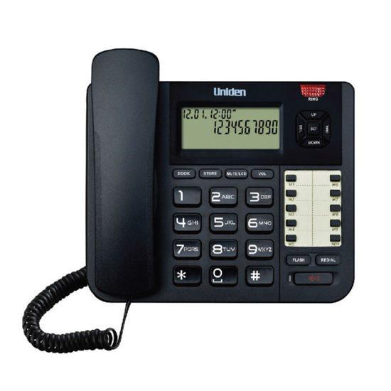 UNIDEN Τηλέφωνο Επιτραπέζιο AT8501 Μαύρο