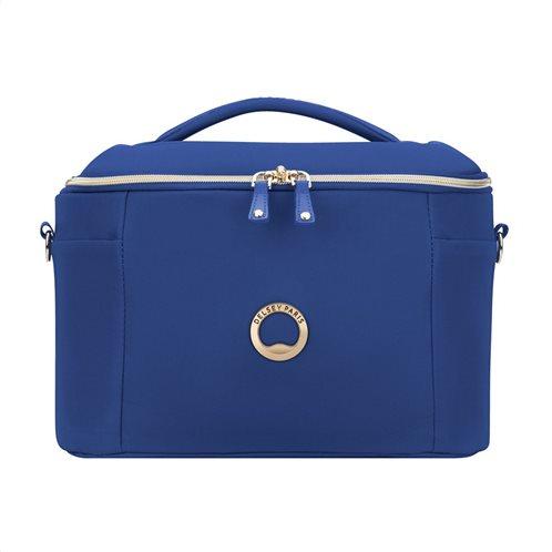 Delsey Beauty case 25x32x21.5cm σειρά Montrouge Blue