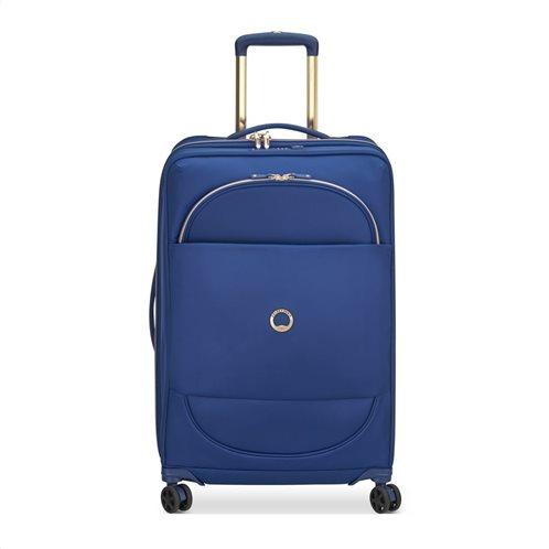Delsey Βαλίτσα μεσαία trolley expandable 69x42.5x29/33cm σειρά Montrouge Blue