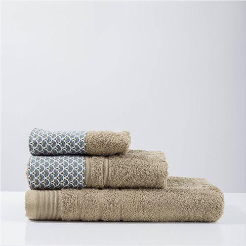 White Fabric Πετσέτα Rani Πράσινη Προσώπου
