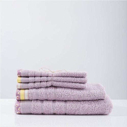 White Fabric Πετσέτα kitty Μωβ Μπάνιου