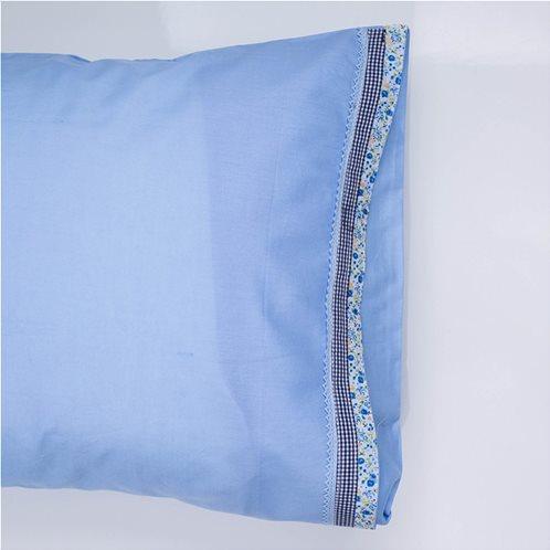 White Fabric Σετ Μαξιλαροθήκες Kitty Σιελ