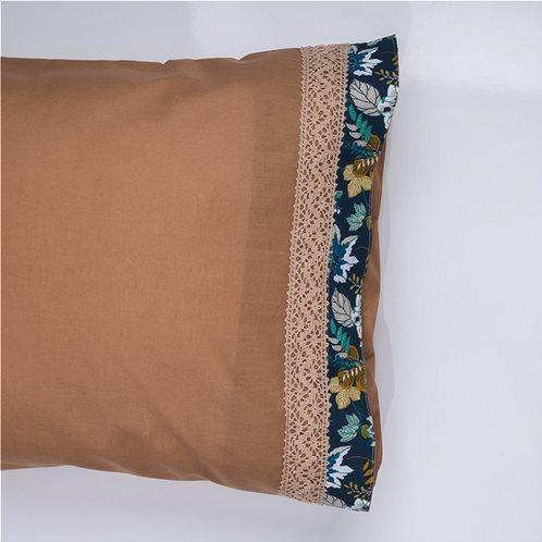 White Fabric Σετ Μαξιλαροθήκες Odette Μπεζ