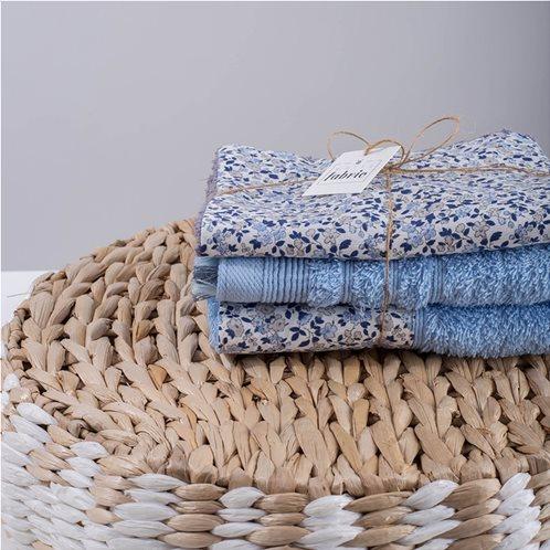 White Fabric Σετ Λαβέτες Nerida