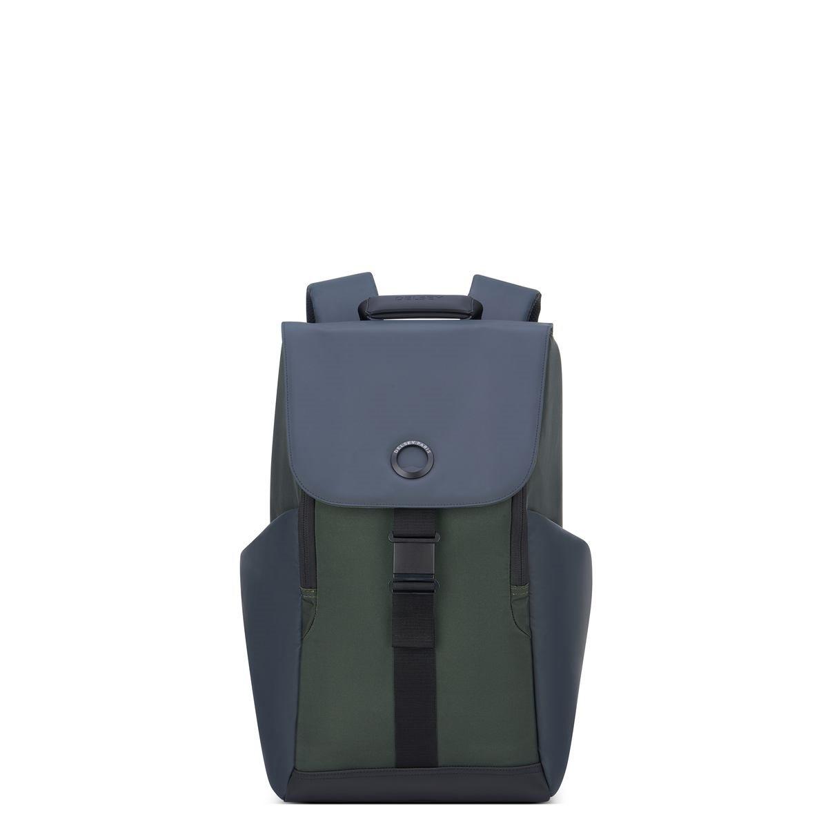 Delsey Σακίδιο πλάτης με θέση PC 15,6'' 45,5x31,5x14,5cm σειρά Securflap Army