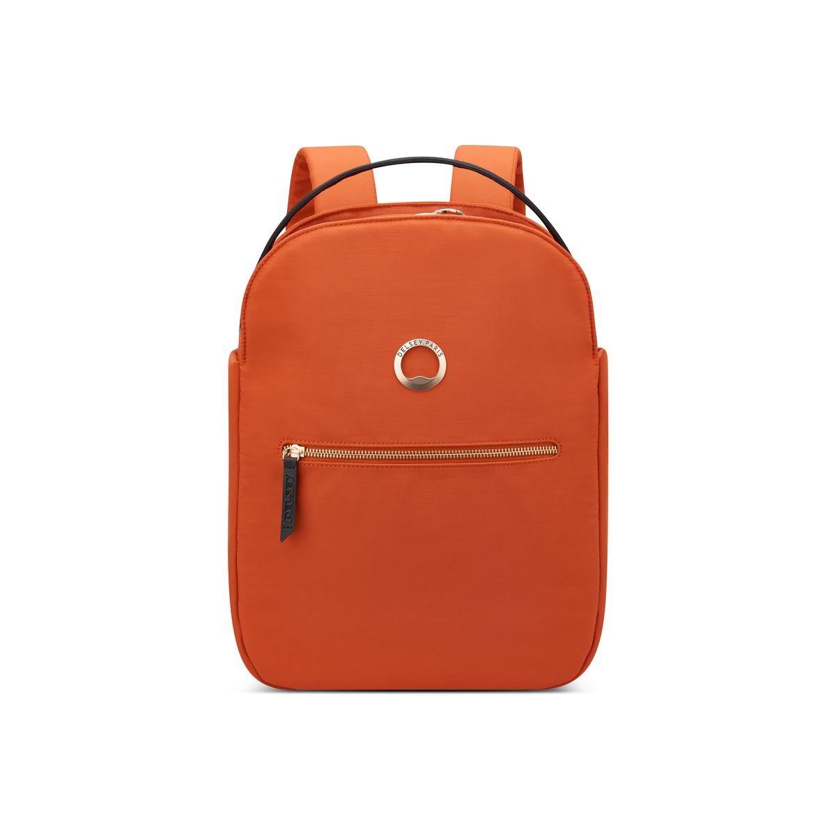 Delsey Σακίδιο πλάτης με θέση PC 14  38x30x10,5cm σειρά Securstyle Orange