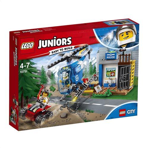 LEGO Juniors Mountain Police Chase 10751 Αστυνομική Καταδίωξη στο Βουνό