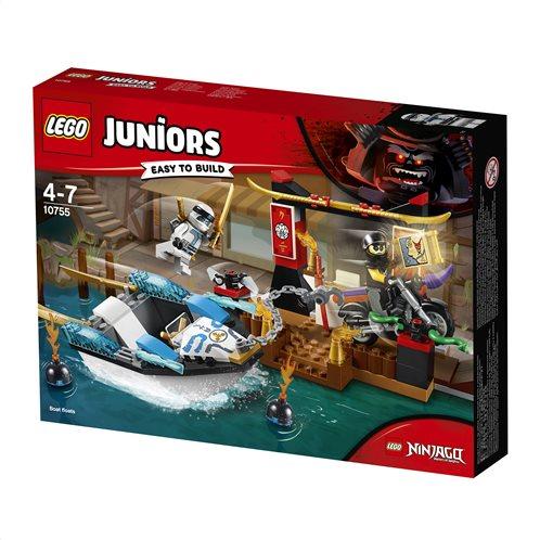 LEGO Juniors Zane's Ninja Boat Pursuit 10755 Καταδίωξη με Νίντζα Σκάφος του Ζέιν