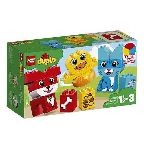 LEGO Duplo My First Puzzle Pets 10858 Τα Πρώτα Μου Κατοικίδια σε Παζλ