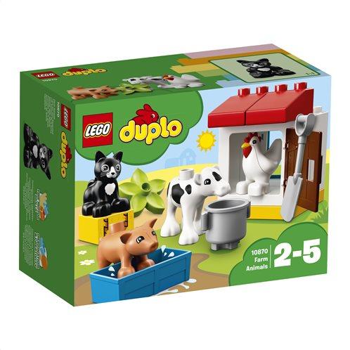 LEGO Duplo Farm Animals 10870 Ζώα της Φάρμας