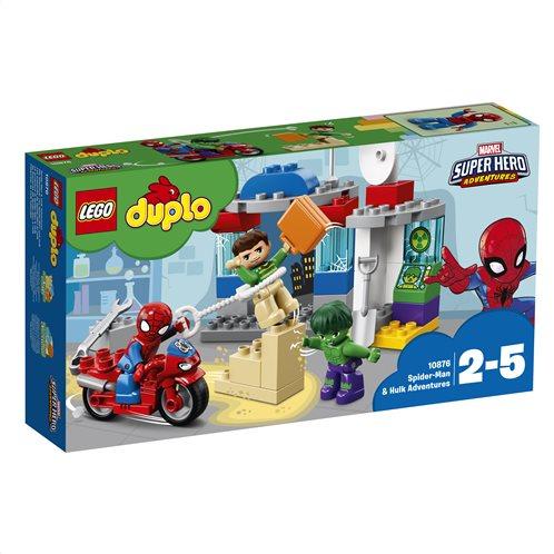 LEGO Duplo Spider-Man & Hulk Adventures 10876 Περιπέτειες του Σπάιντερ Μαν και του Χαλκ