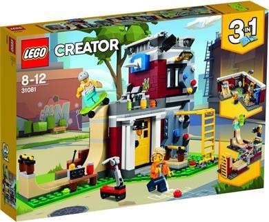 LEGO Creator Modular Skate House 31081 Επεκτάσιμο Σπίτι για Σκέιτ