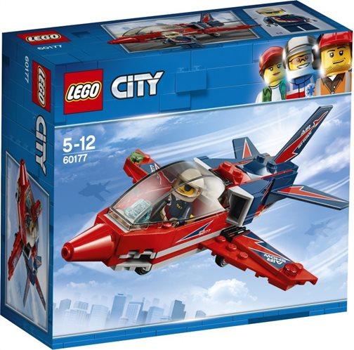 LEGO City Airshow Jet 60177 Τζετ Αεροπορικής Επίδειξης