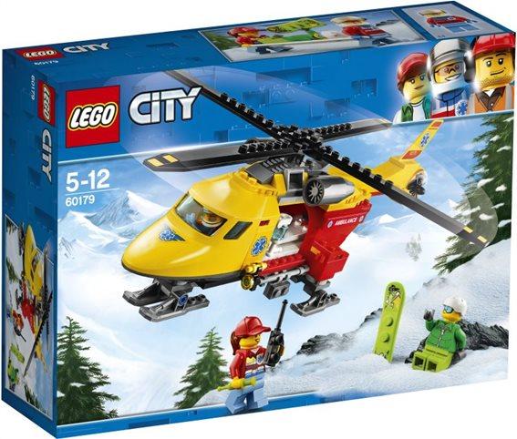 LEGO City Ambulance Helicopter 60179 Ασθενοφόρο Ελικόπτερο
