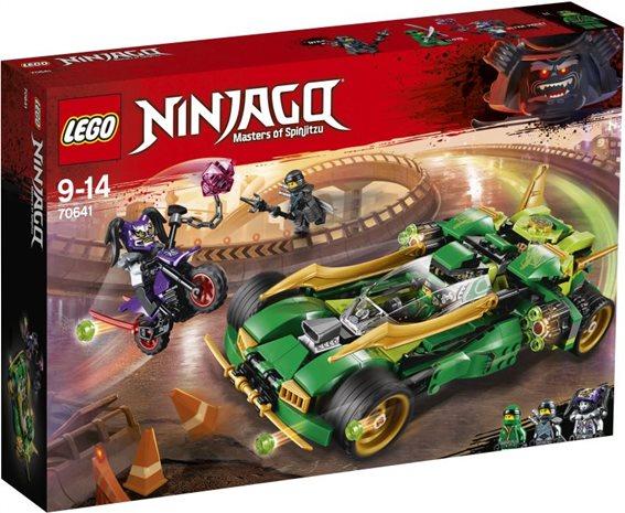 LEGO Ninjago Ninja Nightcrawler 70641 Νυχτοπερπατητής Νίντζα