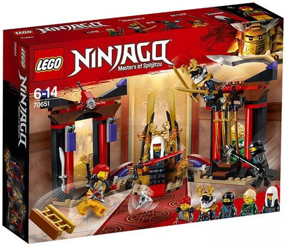 LEGO Ninjago Throne Room Showdown 70651 Αναμέτρηση στην Αίθουσα του Θρόνου