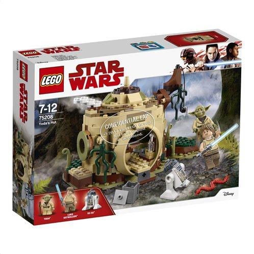 LEGO Star Wars Yoda's Hut 75208 Η Καλύβα του Yoda