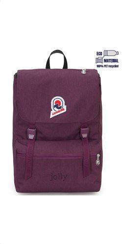 Invicta σακίδιο πλάτης 28x38x20cm σειρά Jolly Purple