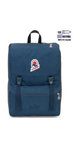 Invicta σακίδιο πλάτης 28x38x20cm σειρά Jolly Orion Blue