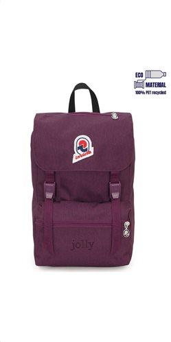 Invicta σακίδιο πλάτης 23x33x17cm σειρά Jolly S Purple