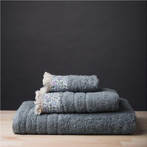 White Fabric Πετσέτα Margot Aqua Μπάνιου