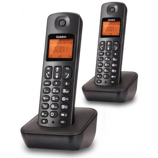 UNIDEN Τηλέφωνο Ασύρματο AT-3100-2 Μαύρο