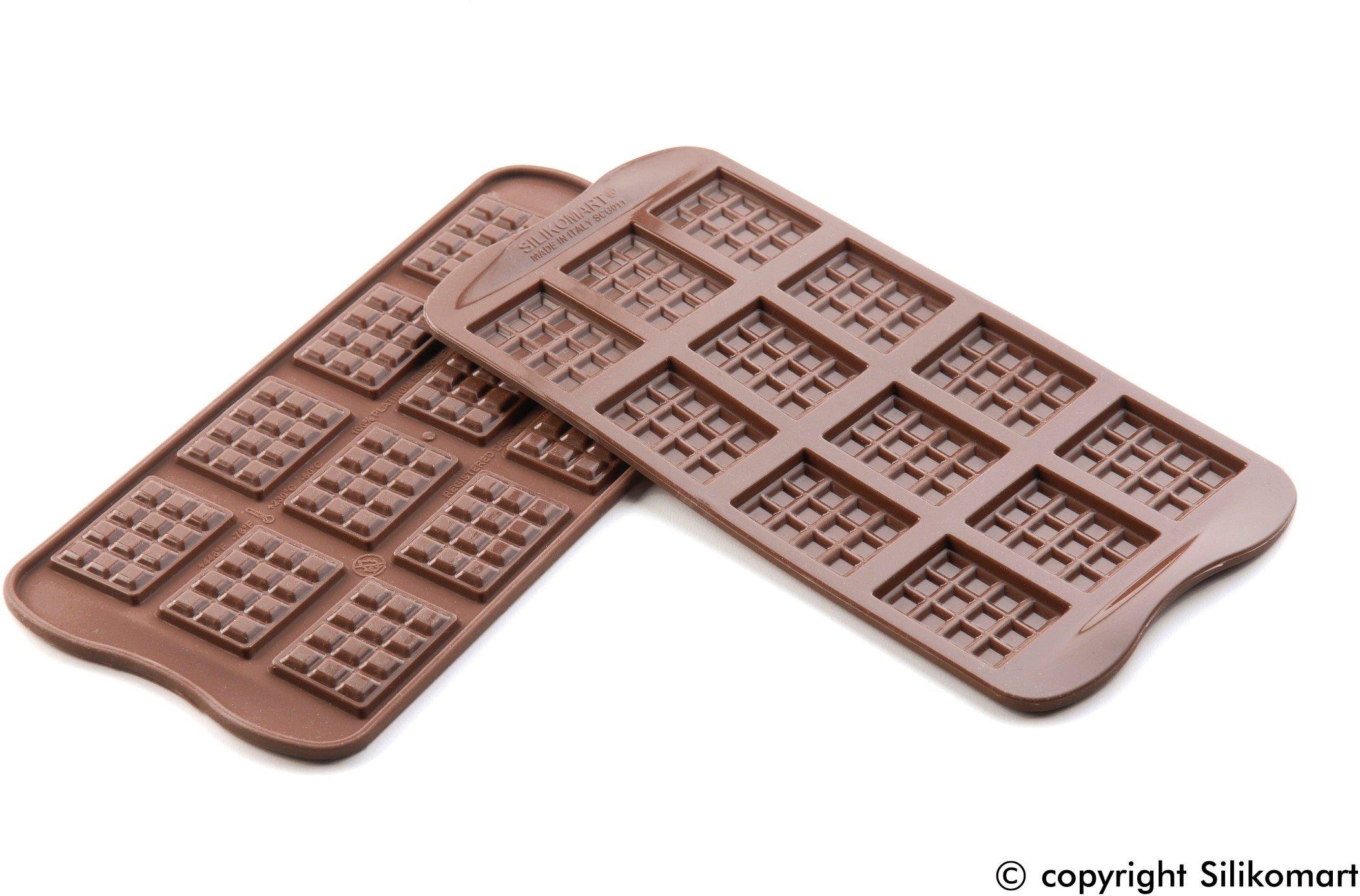 Silikomart Φόρμα Σιλικόνης για 6 Σοκολατάκια Tablette