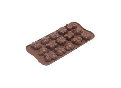Silikomart Φόρμα Σιλικόνης Springlife για 15 Σοκολατάκια