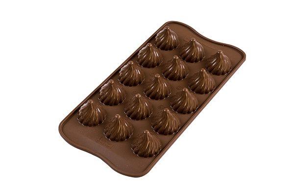 Silikomart Φόρμα Σιλικόνης 3D Για 15 Σοκολατάκια ''Choco Flame''